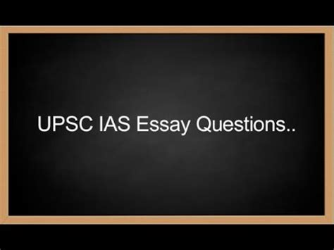 How to write Essay in UPSC Mains Civilsdaily